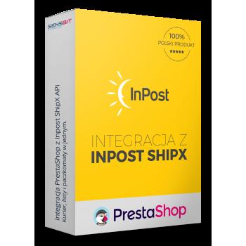 Integracja z Inpost (Paczkomaty, Listy, Kurier) przez SHIPX API! Prestashop 1.5, 1.6 i 1.7!