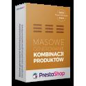 Masowe generowanie kombinacji produktów dla PrestaShop 1.5, 1.6, 1.7