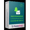 Przypomnienie o nieopłaconym zamówieniu dla PrestaShop