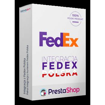 Integracja z Fedex Express dla PrestaShop 1.5, 1.6 i 1.7!