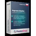Poprawa błędu z zapisywaniem produktu w panelu administracyjnym PrestaShop 1.6